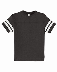 Youth Fine Jersey Football Tee