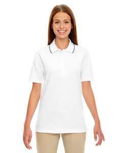 Edry® Ladies' Needle-Out Interlock Polo