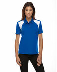 Eperformance™ Ladies' Colorblock Textured Polo