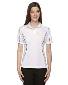 Eperformance™ Ladies' Velocity Snag Protection Colorblock Polo with Piping