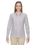 Ladies' Paramount Wrinkle-Resistant Cotton Blend Twill Checkered Shirt