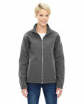 Ladies' Three-Layer Fleece Bonded Soft Shell Technical Jacket