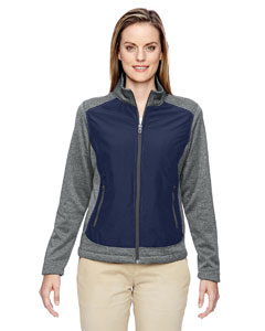 Ladies' Victory Hybrid Performance Fleece Jacket