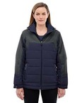 Ladies' Excursion Meridian Insulated Jacket with Melange Print