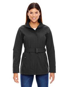 Ladies' Skyscape Three-Layer Textured Two-Tone Soft Shell Jacket