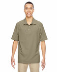 Men's Excursion Crosscheck Performance Woven Polo