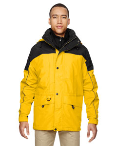 Men's 3-in-1 Two-Tone Parka