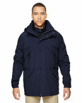 Men's 3-in-1 Parka with Dobby Trim