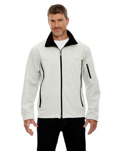 Men's Three-Layer Fleece Bonded Performance Soft Shell Jacket