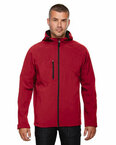 Men's Prospect Two-Layer Fleece Bonded Soft Shell Hooded Jacket