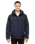 Men's Excursion Meridian Insulated Jacket with Melange Print
