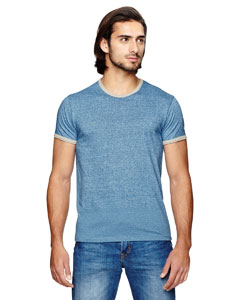 Men's Eco-Mock Twist Ringer Crew