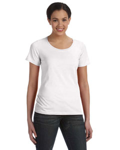 Ladies' Ringspun Sheer Featherweight T-Shirt