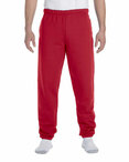 9.5 oz., 50/50 Super Sweats® NuBlend® Fleece Pocketed Sweatpants