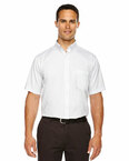Men's Tall Optimum Short-Sleeve Twill Shirt