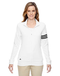 Ladies' climalite® 3-Stripes Full-Zip Jacket