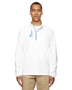puremotion® Mixed Media Quarter-Zip