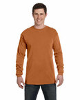 Ringspun Garment-Dyed Long-Sleeve T-Shirt