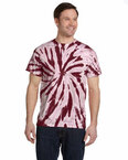 5.4 oz., 100% Cotton Twist Tie-Dyed T-Shirt