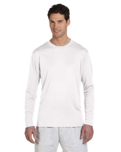 Double Dry® 4.1 oz. Long-Sleeve Interlock T-Shirt