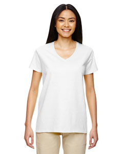Heavy Cotton™ Ladies' 5.3 oz. V-Neck T-Shirt