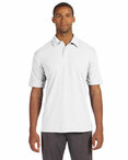 Men's Performance Three-Button Mesh Polo