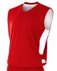 Adult Reversible Speedway Muscle Shirt