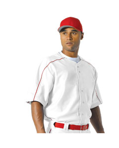Men's Warp Knit Baseball Jersey