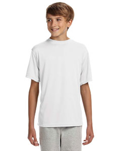 Youth Shorts Sleeve Cooling Performance Crew Shirt