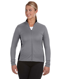 Performance Ladies' 5.4 oz. Colorblock Full-Zip Jacket