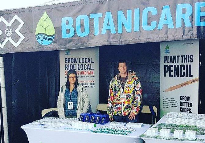Botanicare Booth at The X Games